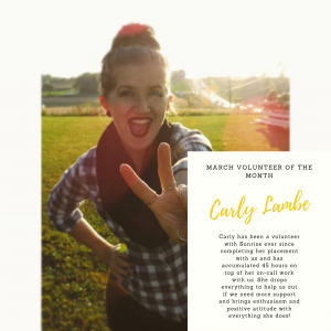 Carly Lambe March