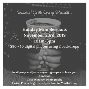 Holiday Mini Sessions Advertisement - Sunrise