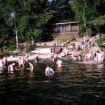 Swimming at Wabikon